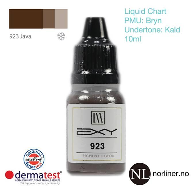 Bilde av MT-EXY #923 Java til PMU Bryn [Liquid Chart] 10ml
