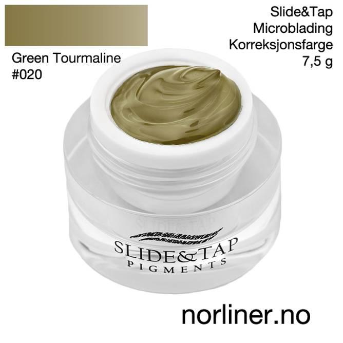 Bilde av LB-SLIDE&TAP #020 Green Tourmaline 7,5g