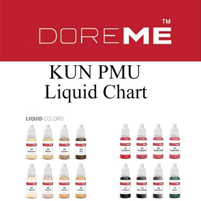 Bilde av DOREME KUN PMU Liquid Chart