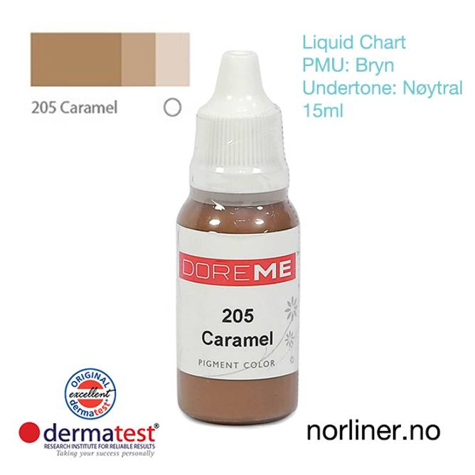 Bilde av MT-DOREME #205 Caramel til PMU Bryn [Liquid