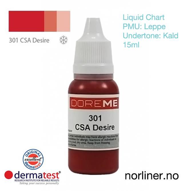 Bilde av MT-DOREME #301 CSA Desire til PMU Leppe [Liquid