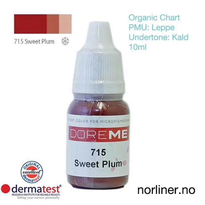 Bilde av MT-DOREME #715 Sweet Plum PMU Leppe [Organic