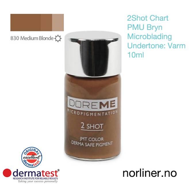 Bilde av MT-DOREME #830 Medium Blonde PMU Bryn&Microb.