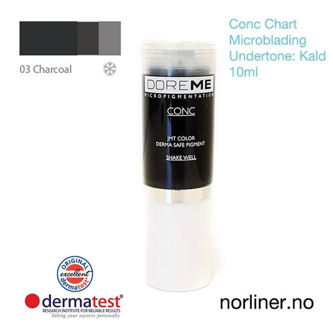 Bilde av MT-DOREME #03 Charcoal til Microblading [Conc